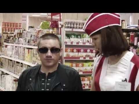 Слепой в магазине ТИФЛОПУТЬ г. Сургут