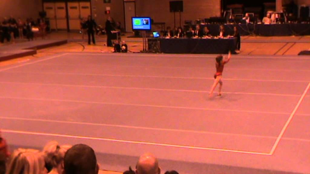 Ellie Botterill Compulsory 3 Floor National Finals