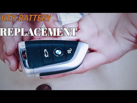 Bmw X1 F48 2016 2019 Key Fob Battery Replacement Diy Youtube