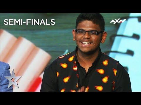 YAASHWIN SARAWANAN (Malaysia) Semi-Final 2 | Asia's Got Talent 2019 on AXN Asia