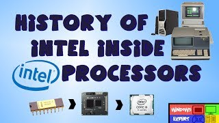 hISTORY OF THE INTEL PROCESSORS (1971-2019)
