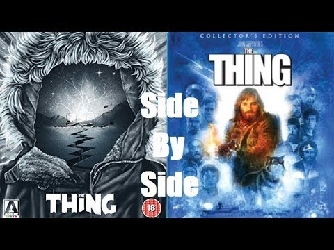 The Thing Blu-ray Comparisons: Scream Factory & Arrow Video