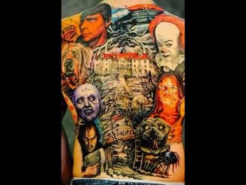 Horror Movie Themed Tattoo's Ink (Part 1)