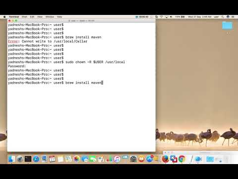 brew install Error: Cannot write to /usr/local/Cellar macOS Mac OS X
