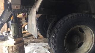 Усиление ресор на ГАЗ 3309