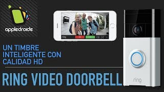 Un Timbre Inteligente Que Puedes Contestar De Tu Celular Ring Video Doorbell