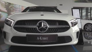 2018 Mercedes-Benz A 200. Start Up, Engine, And In Depth Tour.