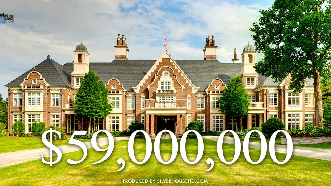 $59 MILLION ESTATE - Chelster Hall - 1150 Lakeshore Road East, Oakville