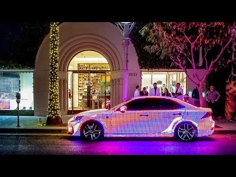 I Found the Craziest Lexus in Beverly Hills
