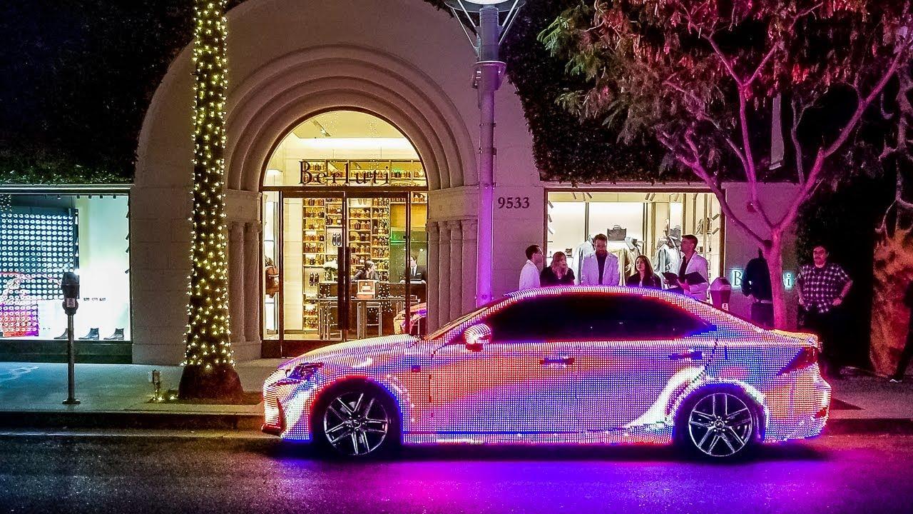 I Found The Craziest Lexus In Beverly Hills