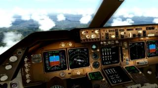 PMDG 747 v3 TUTORIAL PART 3: Approach, landing and parking