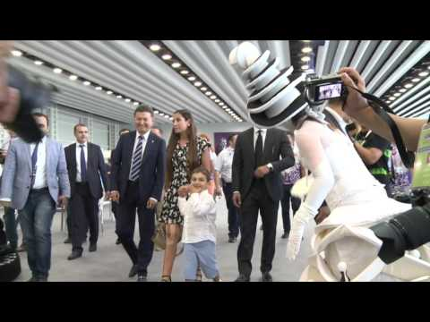 Visit of President Ilham Aliyev's daughter Arzu family