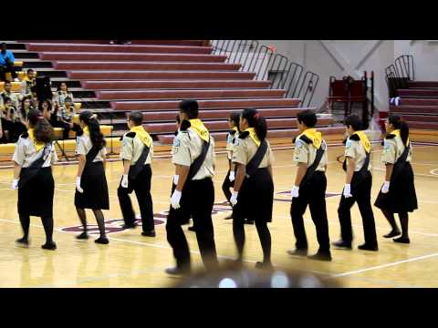 Fancy Drill from Marching Competition 3-17-13