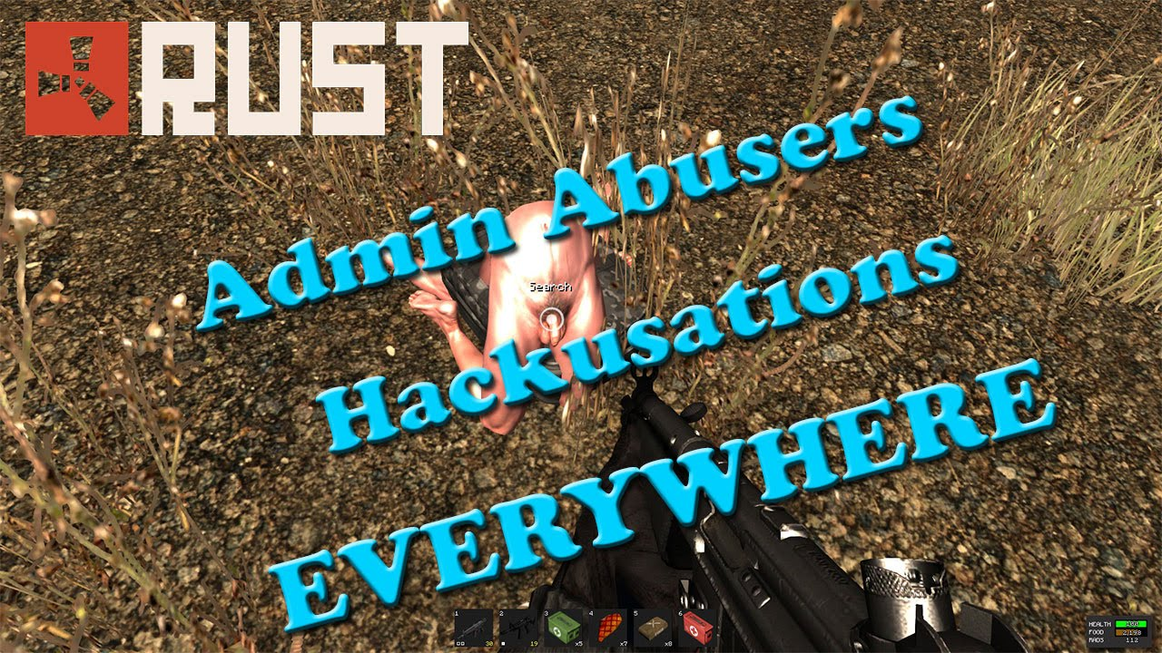 how to add admin to rust