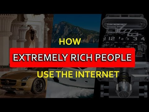 How Extremely Rich People Use Internet Exceptionally  [Hindi]