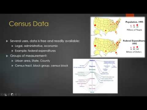 US Census Data and GIS