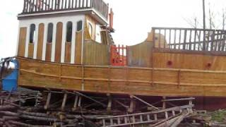 Look... Pirateship Found In Backyard !!!!!