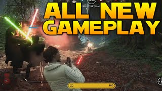 ALL New Star Wars: Battlefront Gameplay: EMPEROR, LEIA, BOBA FETT, SLAVE 1 & MORE!