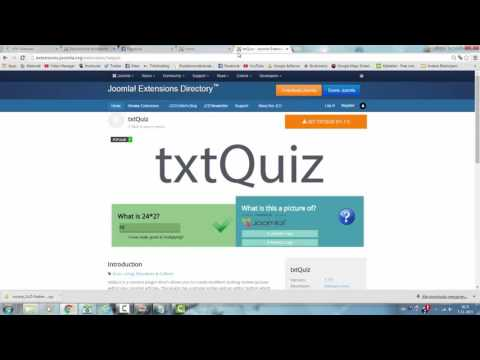 How to Add  a Quiz to your Joomla Website