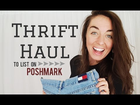 Thrifted Haul to Resell on Poshmark! NEW brands! {Haul #21}