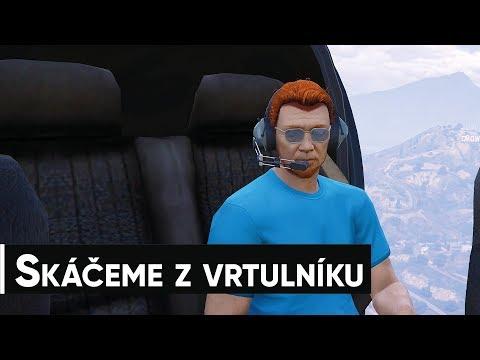 Speciál z Grand Theft Auto Online a skáčeme z vrtulníku thumbnail