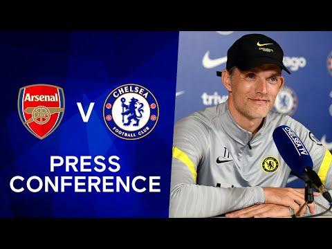 Thomas Tuchel Live Press Conference: Arsenal - Chelsea |  Premier league