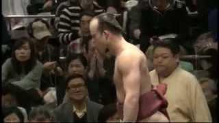 Самый короткий бой в сумо