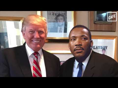 Donald Trump met with Martin Luther King Jr. Period.