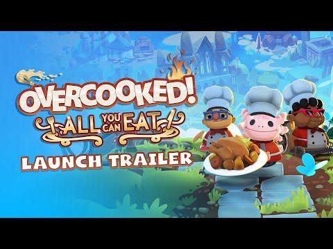 Overcooked! All You Can Eat вышла на Xbox One и получила кроссплатформенный мультиплеер