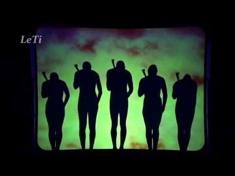 Видео: Потрясающее выступление.Shadow Theatre Attraction Театр теней Аттракцион