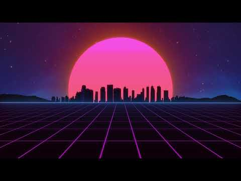 Outrun Grid Animation Loop Creative Commons Youtube