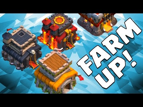 Clash of Clans TH 8 :: Is FARMING Dead?? Nope!