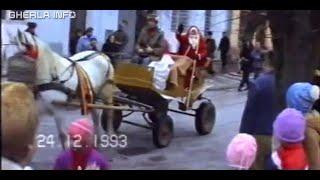 Mos Craciun la Gherla (Cluj) 1993, spectacol, colinde, steaua, capra
