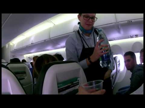 Westjet Encore 3252 YYC to YEG Full Flight
