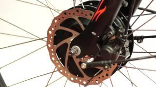 Как снять переднее мотор-колесо?(У нас представлен большой ассортимент электротранспорта: электросамокаты, велогибриды, электромотоциклы,..., 2017-03-07T12:00:04.000Z)
