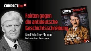 Gerd Schultze-Rhonhof spricht in Magdeburg: