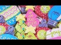 How to Decorate Christmas Tree & Ornament Cookies - SIX Designs!