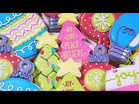 how-to-decorate-christmas-tree-&-ornament-cookies---six-designs!