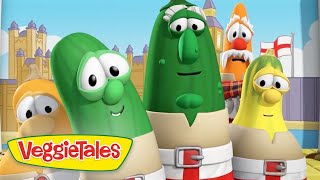 Veggie Tales | The Dane of The Cucumber | Veggie Tales Silly Songs With Larry | Silly Songs