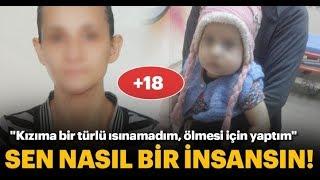 1,5 Yaşındaki Bebek Miraya Annesinden işkençe