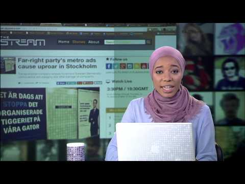 The Stream - Leads 05/13/2014: Italy mocks EU election posters; Far-right party's metro ads cause up