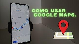 COMO USAR GOOGLE MAPS - GPS de navegação 2021. screenshot 4