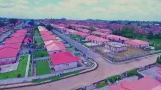 NAVY ESTATE KARSHI ABUJA (AERIAL VIDEO) | DJI PHANTOM 3