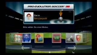 Pro Evolution Soccer 2009 Wii Gameplay