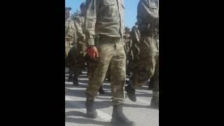 Isparta terörle mücadele alay Komutanlığı 96/3 tertip yemin töreni