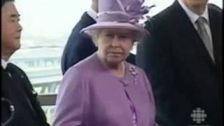 Queen in Winnipeg