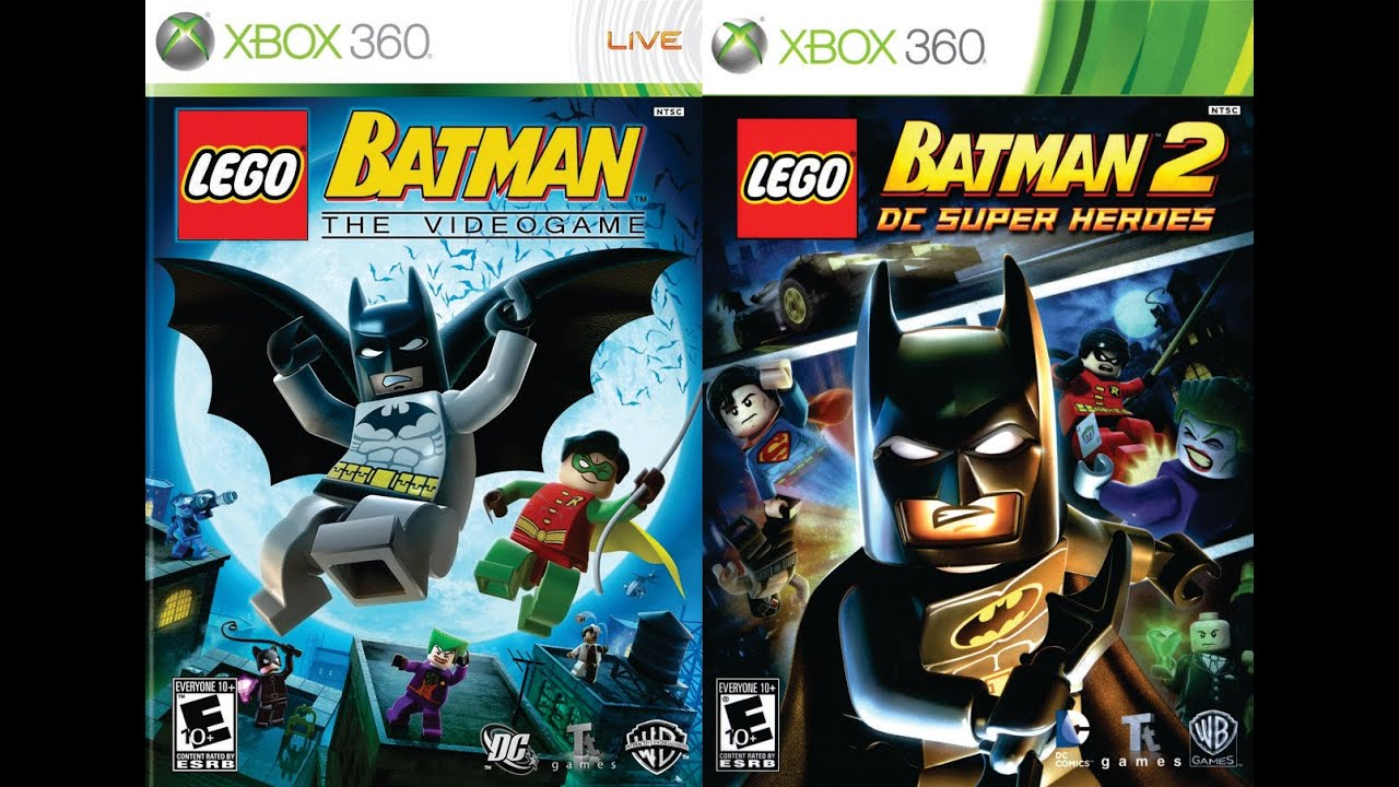 Unboxing - LEGO BATMAN THE VIDEOGAME E LEGO BATMAN 2 DC ...