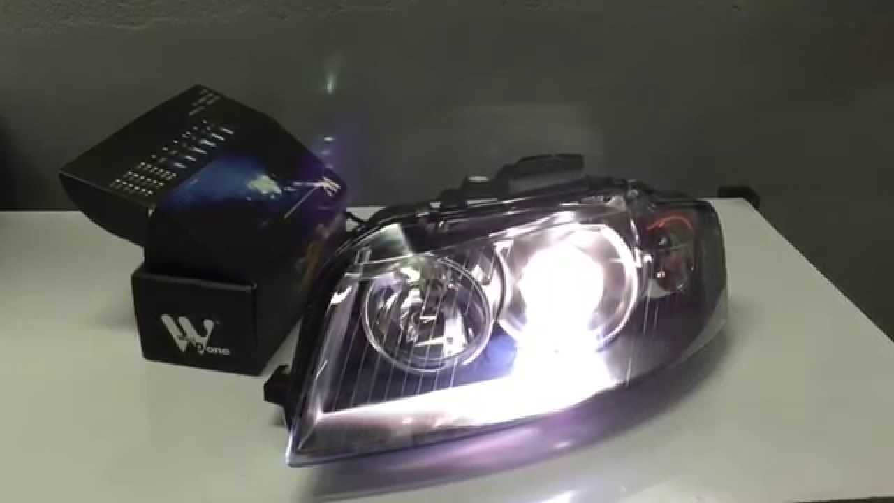 audi a3 xenon headlight plug play youtube. Black Bedroom Furniture Sets. Home Design Ideas