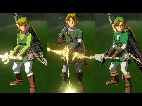The Legend of Zelda: Breath of the Wild – All amiibo Exclusive Weapons & Armor Sets!