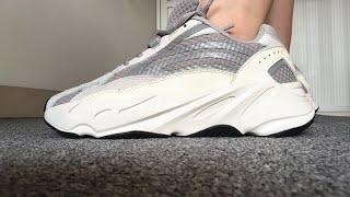 Adidas Yeezy Boost 700 V2 Runners Static Reflective Restock On Feet